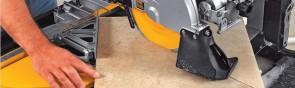 Резка плитки болгаркой, плиткорезом и электролобзиком