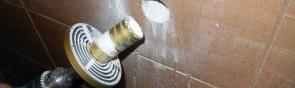 Как правильно сверлить плитку на стене?