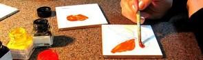 Как красиво расписать плитку на кухне или в ванной