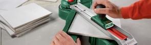 Как правильно работать ручным плиткорезом?