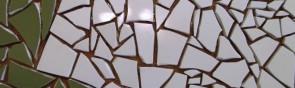 Создание мозаики из битой плитки своими руками