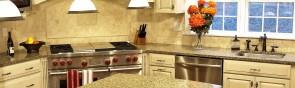 Дизайн плитки на кухне: оформление пола и рабочей зоны