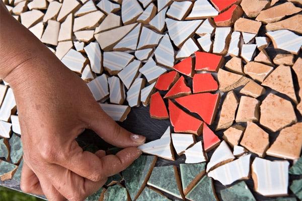 Выкладывание мозаики