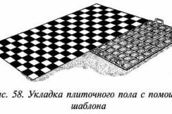 Подготовка и укладка плитки