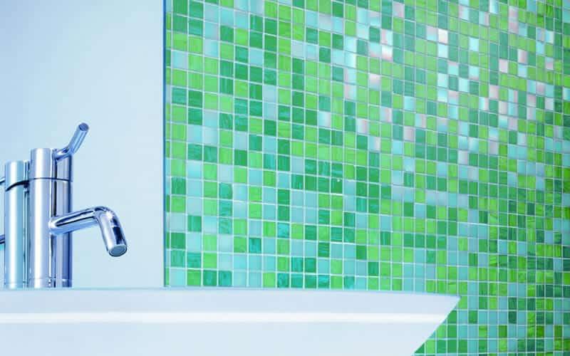 Мозаика и плитка в ванной