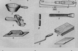 Инструменты для укладки кафельной плитки