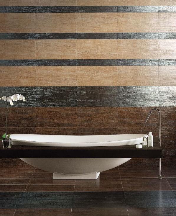 ванной: дизайн и укладка кафеля (фото