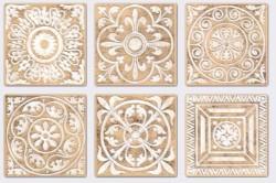 Несколько узоров виниловой плитки