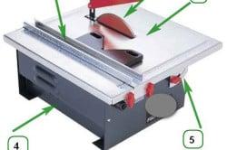 Схема автоматического плиткореза