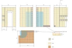 Схема укладки плитки на стены