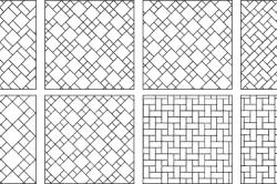 Варианты укладки керамической плитки