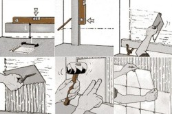 Этапы кладки плитки на стены
