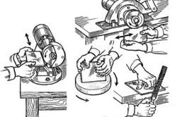 Выравнивание (подтачивание) кромок плиток
