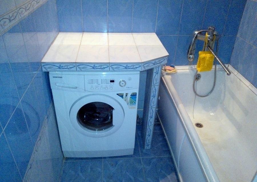 Раковина над стиральной машинкой своими руками 5