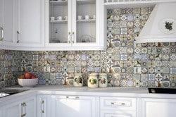 Керамическая плитка в этническом стиле