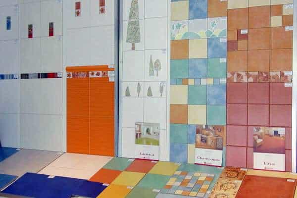 Образцы керамической плитки для ванной комнаты