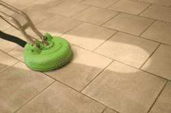 Очистка плитки от химических элементов