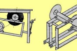 Принципиальная схема электрического плиткореза