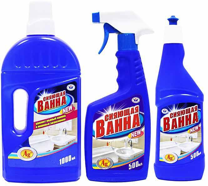 Чистящее средство для чугунной ванны своими руками 9