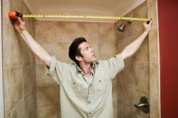 Замер ванной и расчет необходимого количества плитки