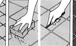 Правильная затирка швов на плитке после монтажных работ