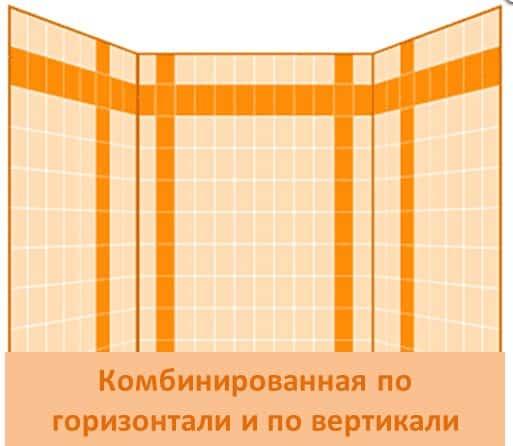 Дизайн кафельной плитки в ванной: Варианты укладки плитки в ванной комнате: дизайн, рисунок