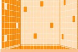 Схема укладки плитки по инверсной схеме