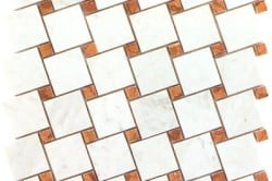 "Схема укладки мозаики ""елочкой"""