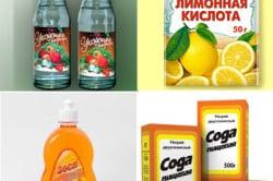Подручные средства для очистки кафеля