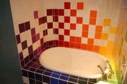 Пример оригинального сочетания цветов
