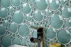 Геометрический стиль в ванной