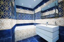 Правильное сочетание цветов в ванной