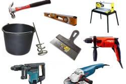 Инструменты для работы с плиткой