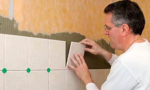 Укладка плитка для ванной комнаты своими руками
