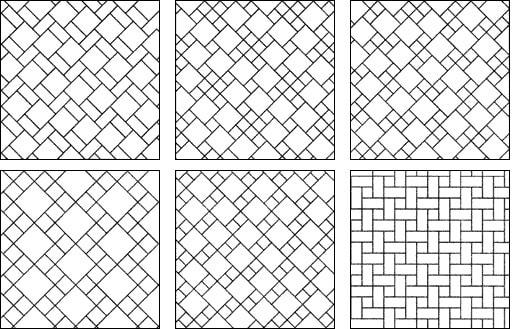Схемы орнаментной кладки