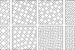 Варианты схем укладки керамической плитки