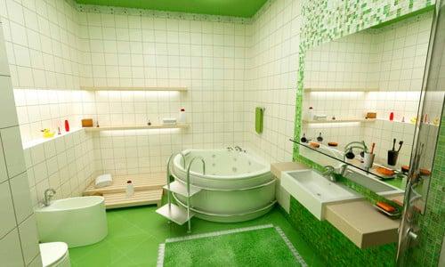 Плитка в ванной на гипсокартоне