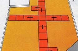 Последовательность укладки напольной плитки