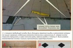 Противопоказания к укладке плитки на плитку