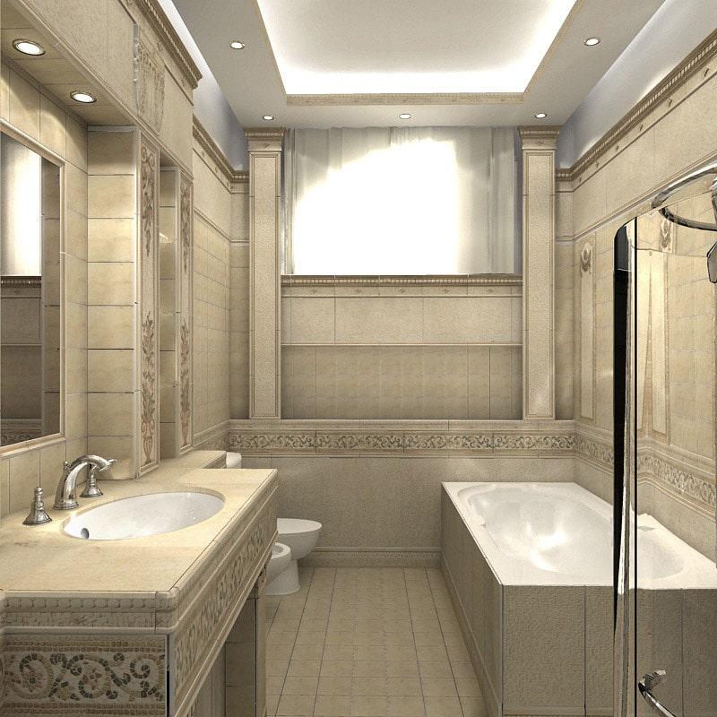 Дизайн ванны классика