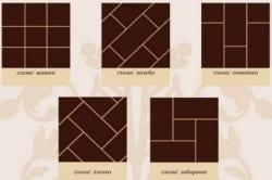 Способы кладки плитки
