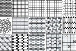 Способы укладки мозаики