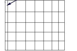 Схема укладки плитки с подрезом