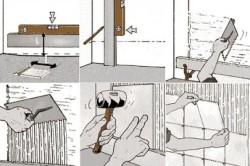 Схема укладки керамической плитки на стены