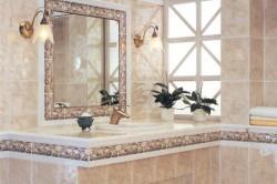 Пастельные тона в ванной