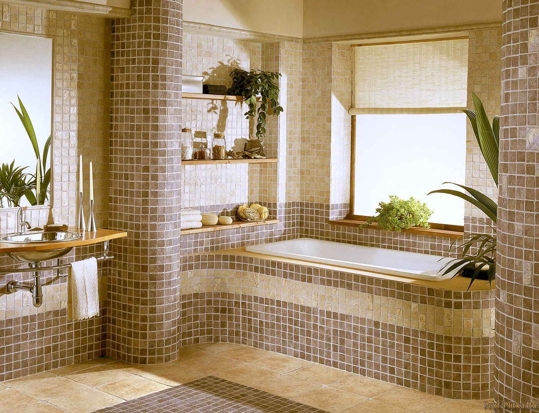 Идеи декора плитки в ванной фото