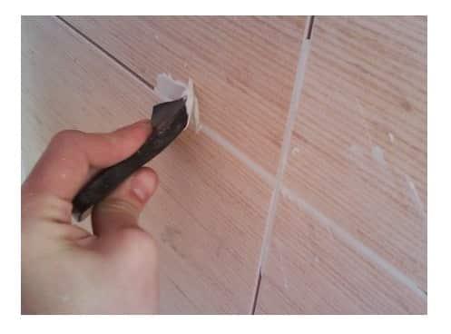 Затирка для плитки в ванной своими руками